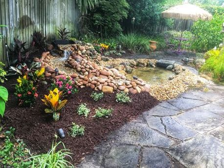 after image of beautiful landscaping